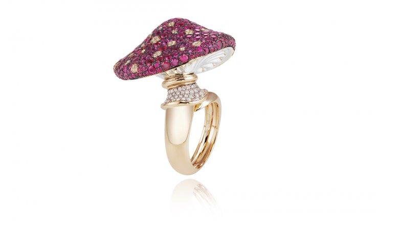 Кольцо Chopard из коллекции Red Carpet Collection 2013