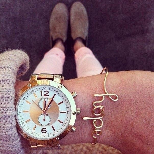 Тренд 2013: часы + браслеты