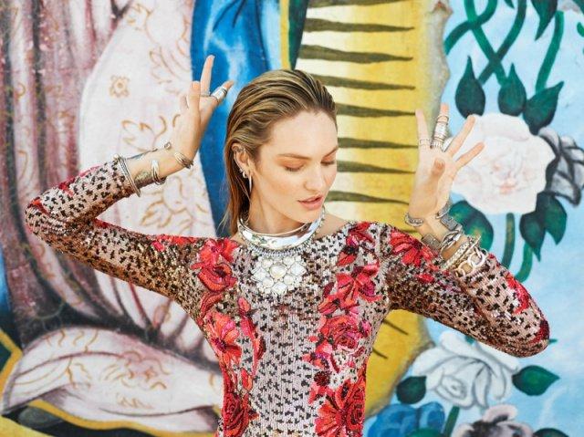 Кэндис Свейнпол для русского Vogue: август 2013