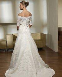 Свадебное платье для фигуры «треугольник»