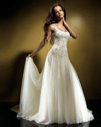 Свадебное платье для фигуры «песочные часы»