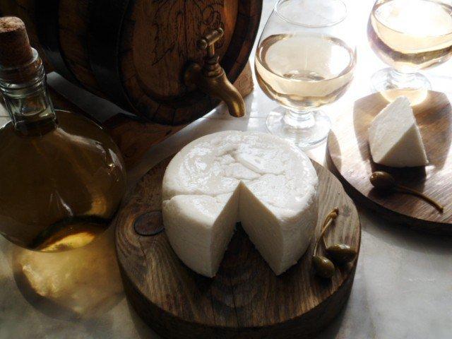 Домашний сыр (как сулугуни или моцарелла)