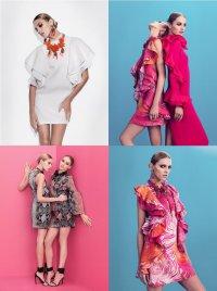 Аня Рубик и Кармен Педару для Gucci: лето 2013