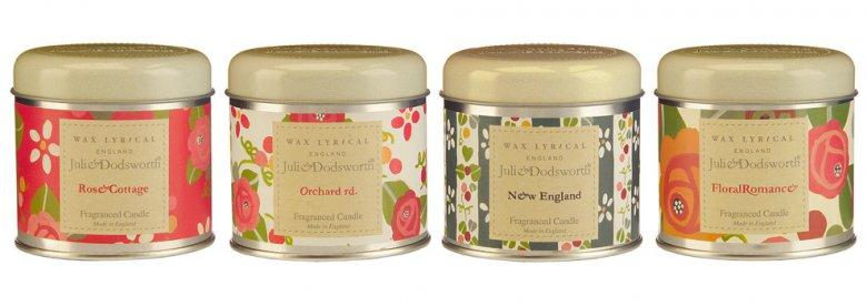 Коллекция ароматических свечей Wax Lyrical