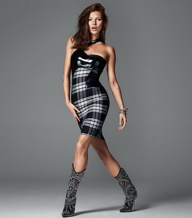Кейт Мосс для Versace