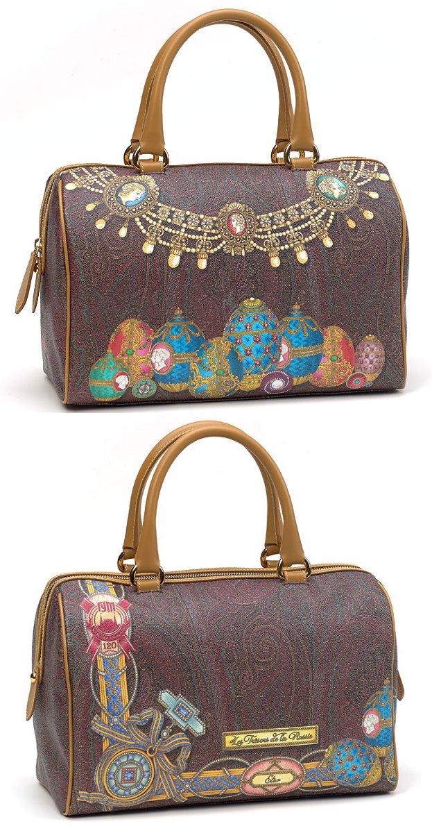 Ограниченная коллекция сумок Etro Le Tresors de la Russie