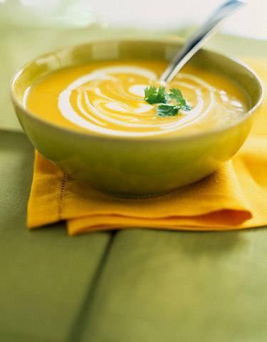 Детский суп-пюре из кабачков