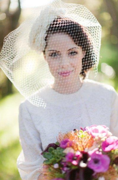 Парижский образ невесты для свадьбы