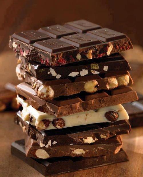 Что закусывать шоколадом