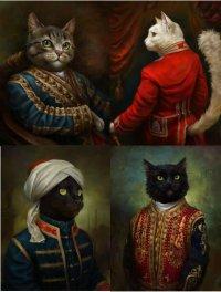 Коты-аристократы Эльдара Закирова