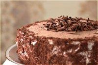 Украшение шоколадом: шоколадные завитки