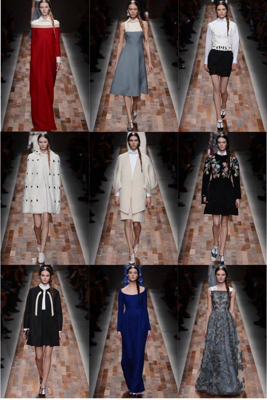 Красивая коллекция нарядов от Valentino