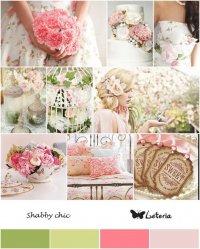 Свадьба в стиле Shabby shic