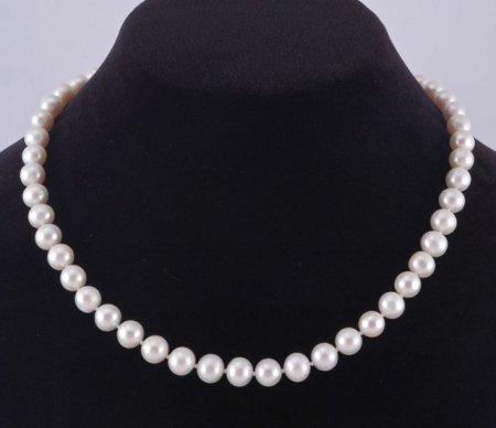 Жемчужное ожерелье «чокер»