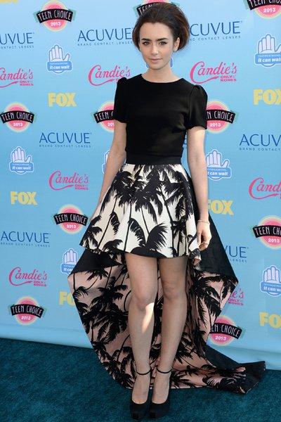 Лили Коллинз на Teen Choice Awards-2013