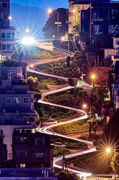 Ломбард-стрит, Сан-Франциско