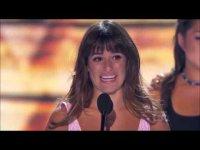 Прочувствованная речь Лии Мишель на церемонии Teen Choice Awards 2013
