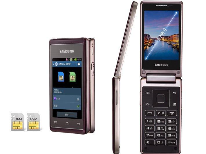 Двухэкранная раскладушка от Samsung