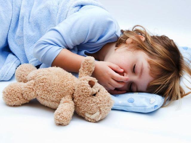 Если ребенок не может уснуть