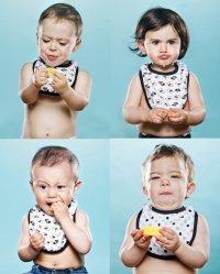 Детская фотосессия: первый в жизни лимон