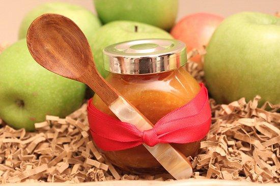 Яблочный джем с корицей
