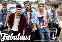 One Direction в журнале Fabulous