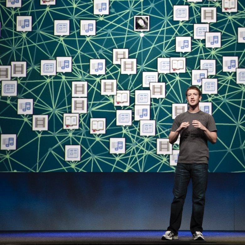 Страницу Марка Цукерберга взломали