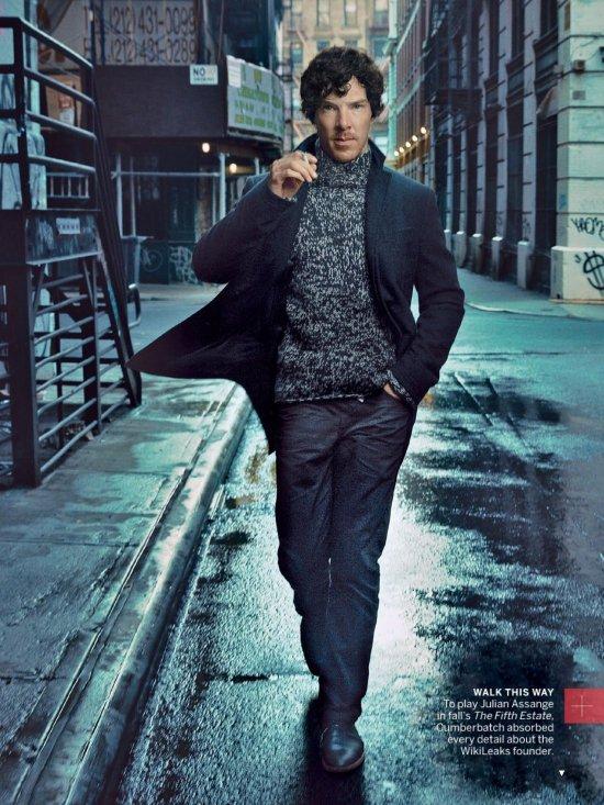 Бенедикт Камбербэтч для Vogue