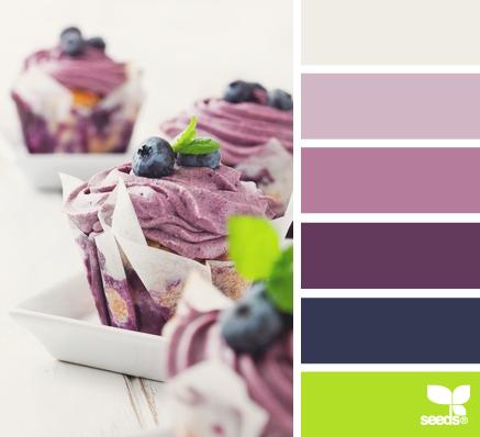 «Вкусные» оттенки цветов для оформления интерьера