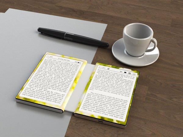 Читалка в стиле бумажной книги