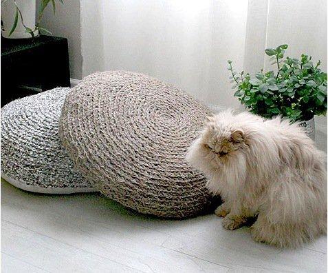 Подушка-когтеточка для вашей кошки