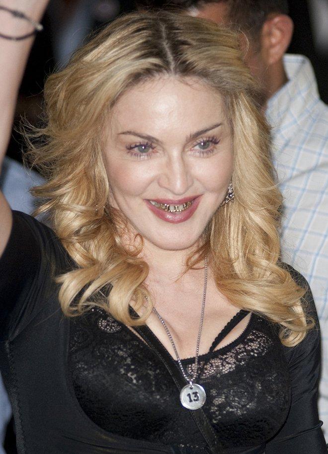 Новая улыбка Мадонны