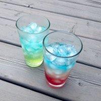 Радужные коктейли для вечеринки