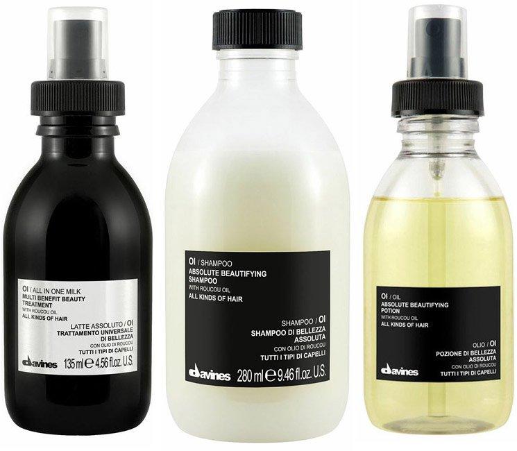 Три новых продукта для волос Oi Oil