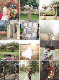 Идеи для мест и фотосессии на свадьбе осенью