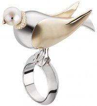 Кольцо с птицей из осенне-зимней коллекции Dior