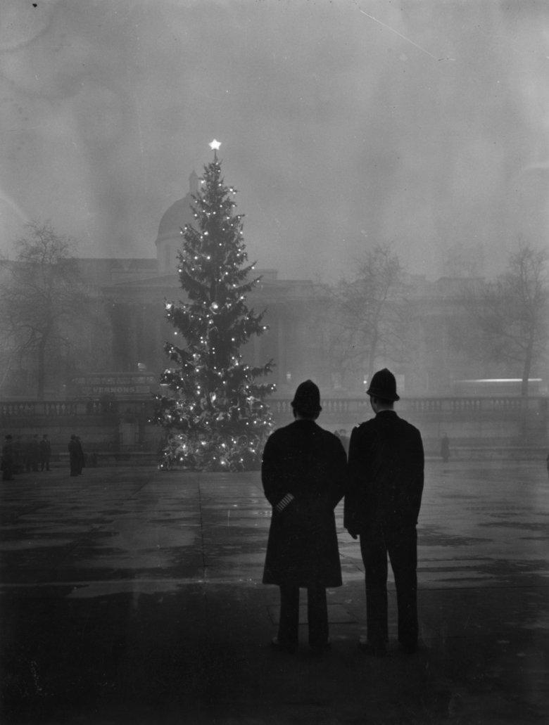 Лондонский туман: фото 1950 года