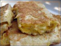 Завтрак за 5 минут: лаваш с яйцом и сыром