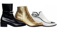 Женские ботинки в мужском стиле
