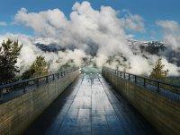 Смотровая площадка Aurland Lookout в Норвегии