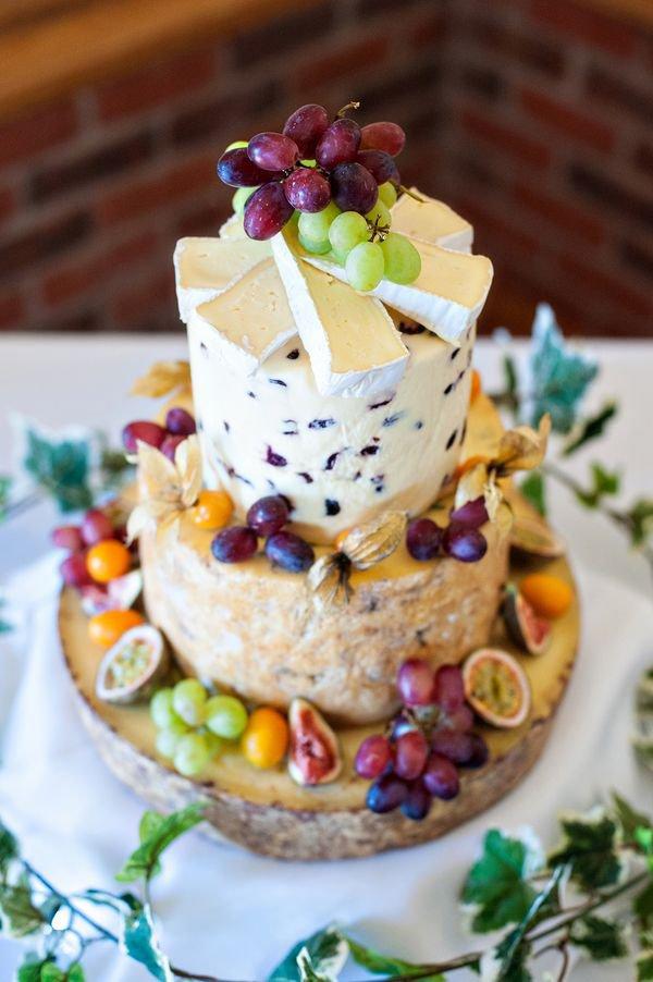 Сырный торт на свадьбу