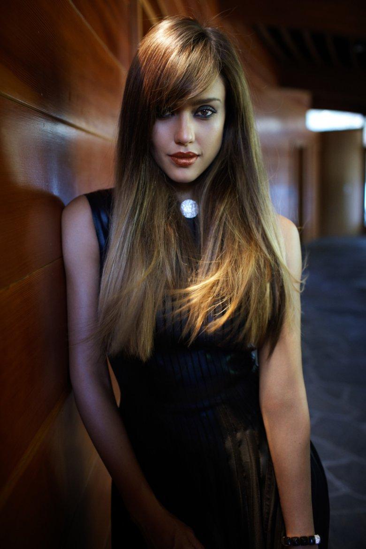 Джессика Альба в новом образе