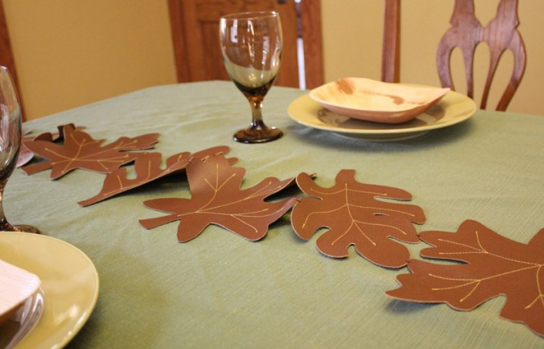 Осенний декор для сервировки стола