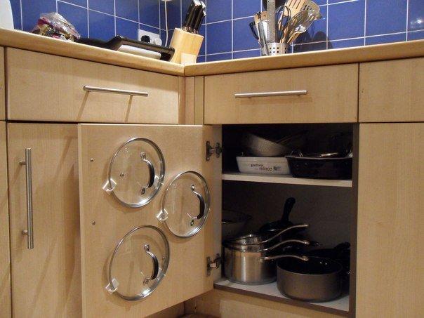 Экономим место на кухне: хранение посуды