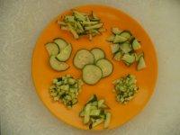 Памятка: основные способы нарезки овощей