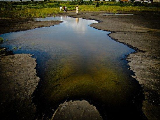 Пич-Лейк - битумное озеро Тринидада