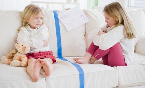 Как решать детские конфликты: мои и чужие вещи