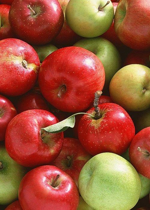 Яблочная маска для волос