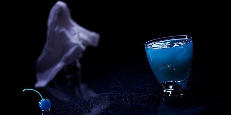 Коктейль на Хэллоуин: эктоплазма