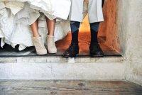 Осенняя обувь невесты: ботильоны